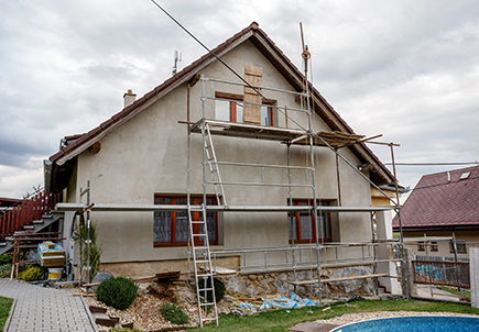 Családi ház építés-felújítás